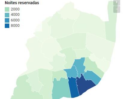 Novas reservas para Airbnbs de Lisboa aumentam 41%