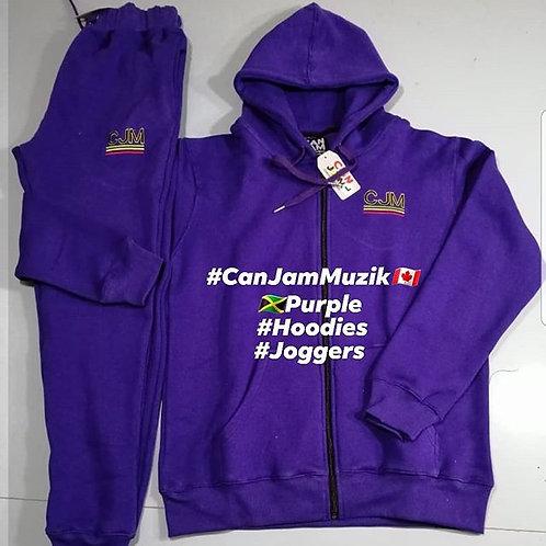 Purple Track Suit