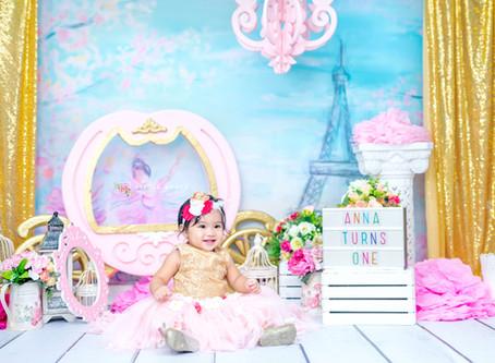 ANNA - PRINCESS BIRTHDAY PHOTOS