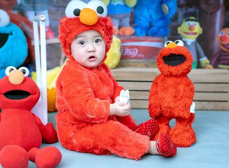 Sesame Street Prebirthday Themed