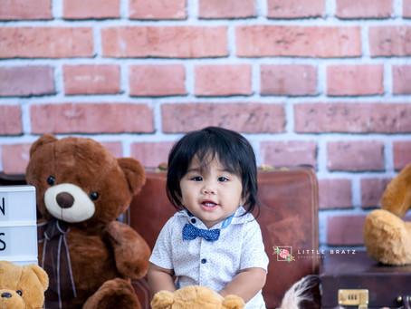 Teddy Bear Prebirthday Themed Photos
