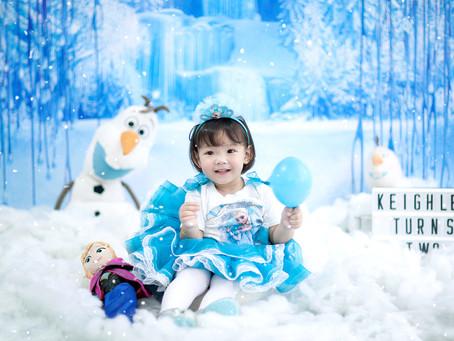 Disney Frozen Elsa Prebirthday Photos