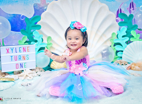 XYLENE - MERMAID BIRTHDAY PHOTOS