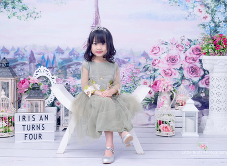 Floral Themed Prebirthday Photos