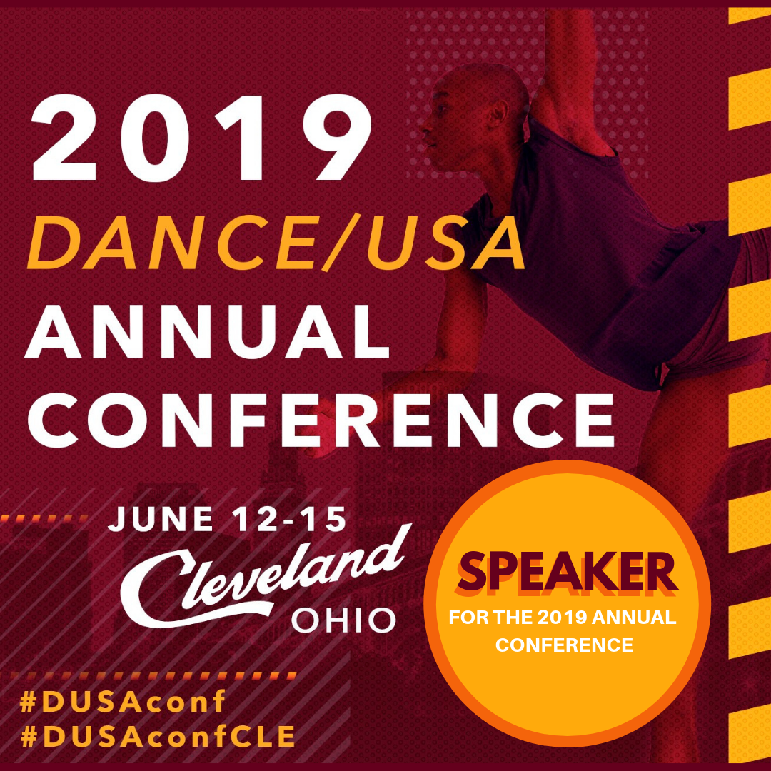 DanceUSA 2019 Speaker Social Media Image