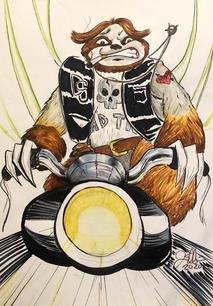 Danger Sloth Concept Art