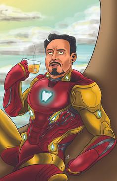 Iron Man Sipping Tea