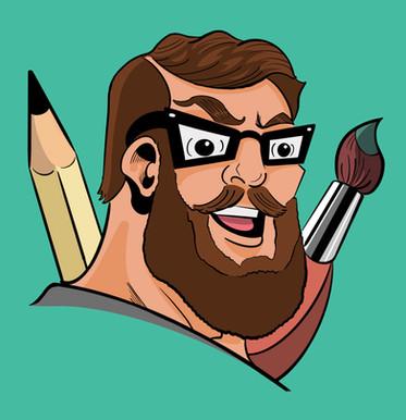 Da Grizzly Artist Cartoon