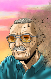 Dusted Stan Lee