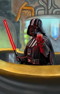 Darth Vader Bartender