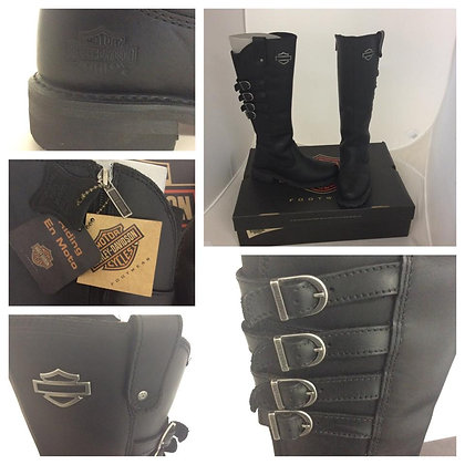 Women Harley Davidson Leather Boots
