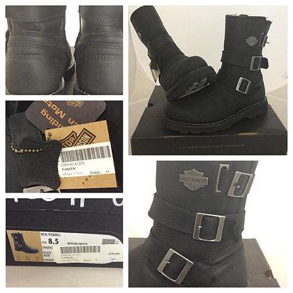 Mens Harley Davidson Leather Boots