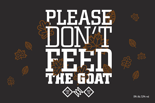 Please don't feed the goat 2021     20L