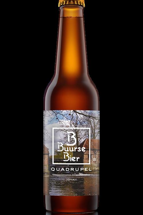 Buurse Bier Quadrupel 33 cl