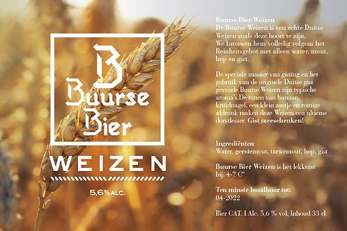 Buurse Bier Weizen 33CL