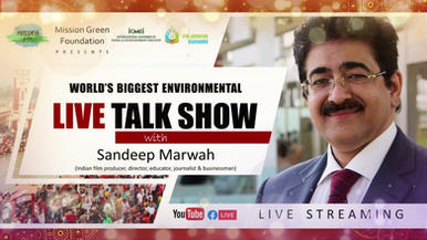 World Biggest's Environmental Talk Show 2021 with Sandeep Marwah | AAFT | Talk show 2021