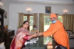 Uttarakhand_Governor Baby Rani Maurya Si