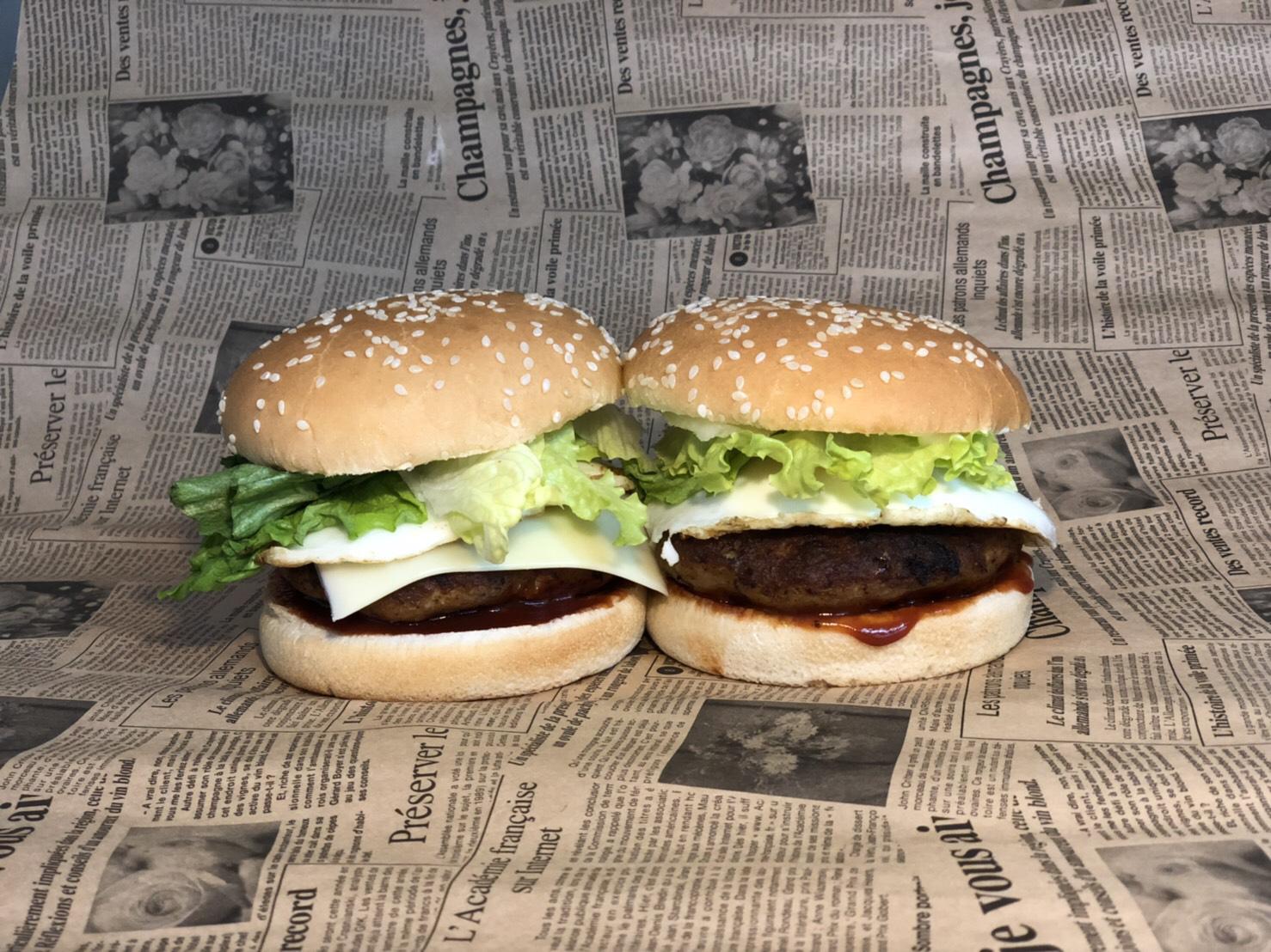 特製ハンバーガー