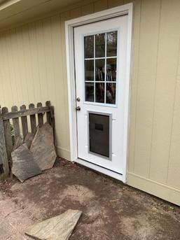 Wall Gets Door (after)