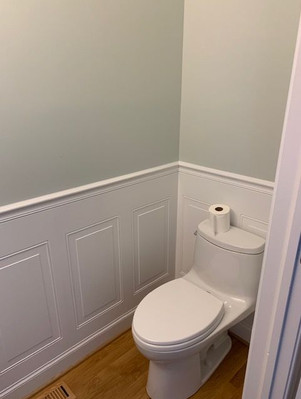 Toilet and Wall (after)