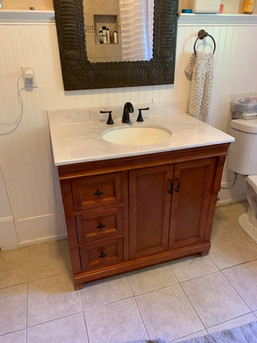 Bathroom Vanity (after)