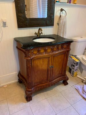 Bathroom Vanity (before)