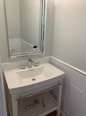 Sink and Mirror (after)
