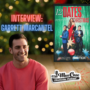"""Garrett Marcantel talks about """"12 Dates of Christmas"""" on HBO Max"""