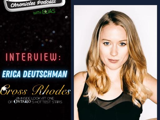 "Interview: Erica Deutschman talks about her show ""Cross Rhodes"" on PopternativeTV"