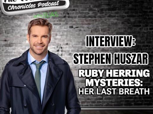 "Stephen Huszar talks Hallmark's ""Ruby Herring Mysteries"""