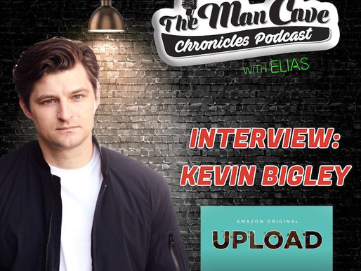 "Kevin Bigley talks about playing Luke in Amazon's ""Upload"", his new book ""Comaville, and more."