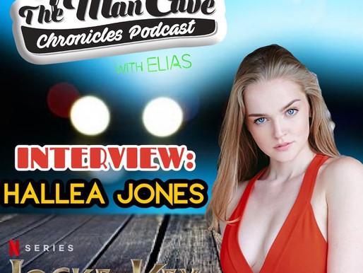 "Hallea Jones talks about playing Eden on Netflix's ""Locke & Key"""