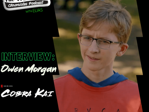 Interview: Owen Morgan talks about playing Bert on Season3 of Cobra Kai on Netflix & more!
