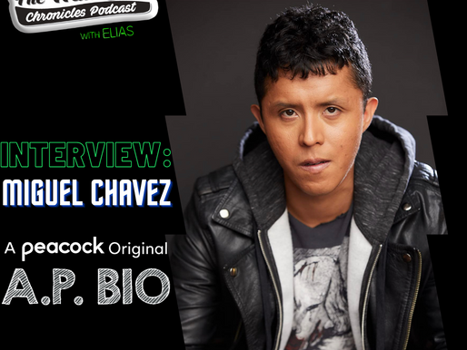 "Miguel Chavez talks about his role on Peacock's ""A.P. Bio"""