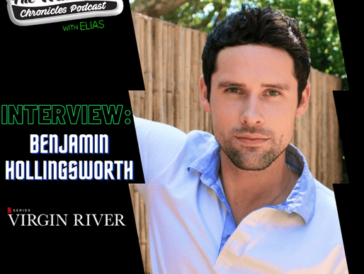 Benjamin Hollingsworth talks about his role on Netflix Virgin River