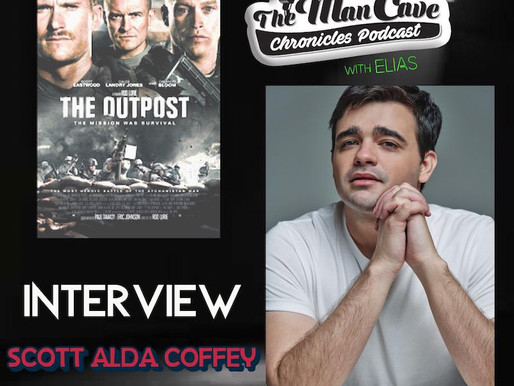 """Scott Alda Coffey talks about his role on """"The Outpost"""""""