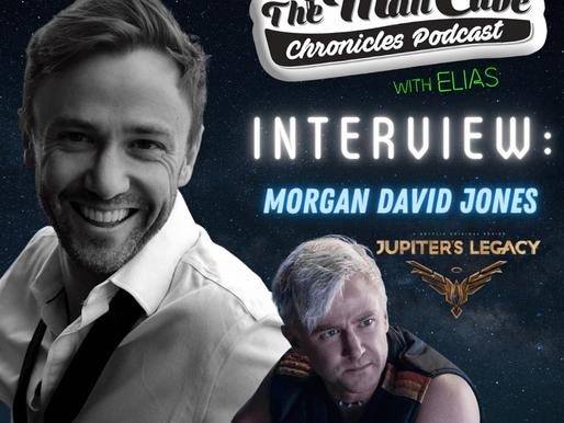 Interview: Morgan David Jones talks about playing Jack Frost on Netflix's Jupiter Legacy