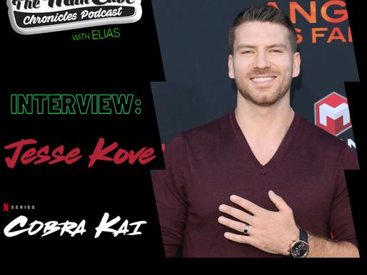 Interview: Jesse Kove talks about his role as Varsity Captain David on Season 3 of Cobra Kai