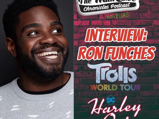 """Ron Funches talks """"Trolls World Tour"""" """"Harley Quinn"""" & more."""