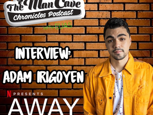 "Adam Irigoyen talks about his role on Netflix's ""Away"""