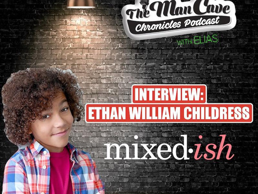 """Ethan William Childress from ABC's """"Mixed-ish"""""""