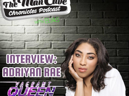 """Adriyan Rae talks about her role on Syfy's """"Vagrant Queen"""""""