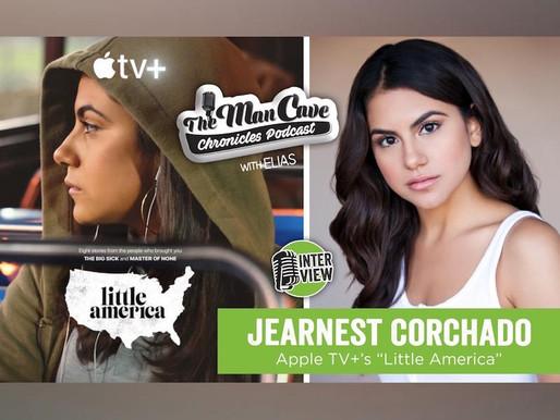"""Jearnest Corchado talks her role on Apple TV+ """"Little America"""""""
