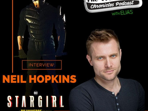 Neil Hopkins talks about playing Sportsmaster on DC's Stargirl