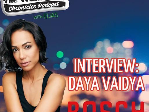 "Daya Vaidya talks about playing Jen Kowski on Amazon's ""Bosch"""