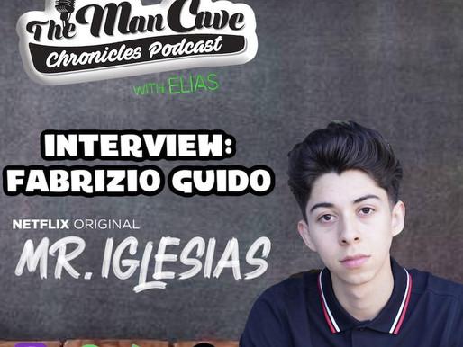 "Fabrizio Guido talks about his role on Netflix's ""Mr. Iglesias"""