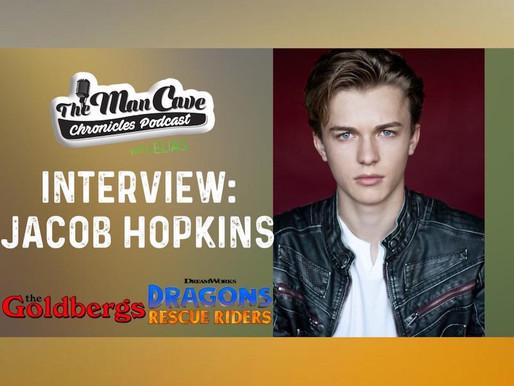 "Jacob Hopkins talks Netflix ""Dragons Rescue Riders"" & ""The Goldbergs"""