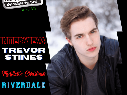 Trevor Stines talks about playing Jason Blossom in Riverdale, and his new film Middleton Christmas