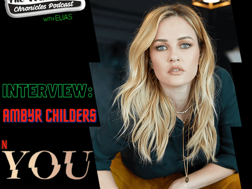 "Ambyr Childers talks Netflix Series YOU, and her company ""Ambyr Childers Jewelry"""