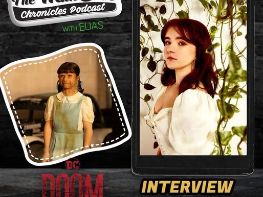 "Abigail Shapiro talks about playing Dorothy Spinner on DC's ""Doom Patrol"""